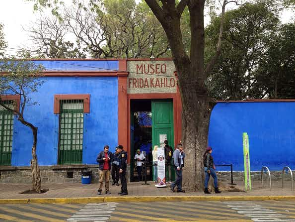 New Frida Kahlo museum in Mexico is showing work inspired by the artist