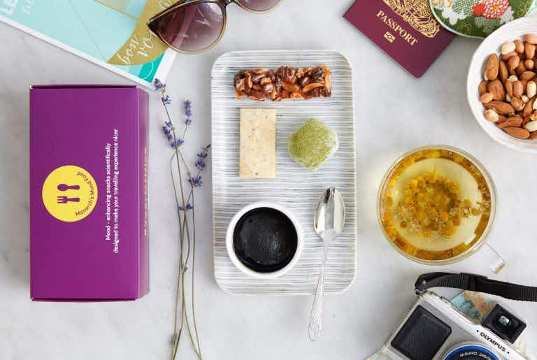 This in-flight menu aims to ease your travel stress and make flying healthier