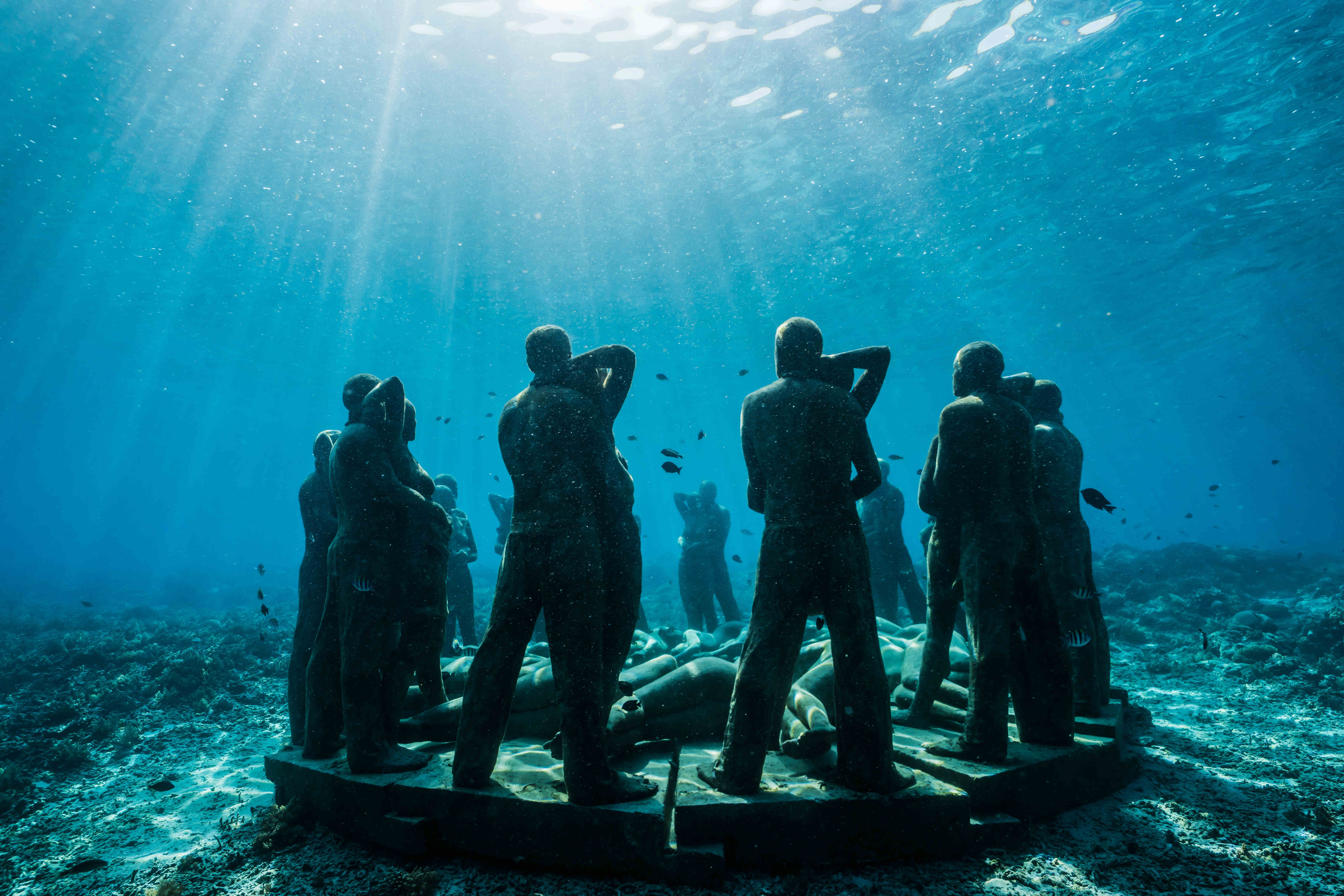 Hauntingly Beautiful Underwater Sculpture Will Help Save Coral Reef Near Indonesia Lonely Planet