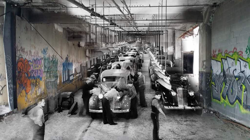 Detroit is now offering tours of the historic Packard Automotive Plant in all its ruined glory