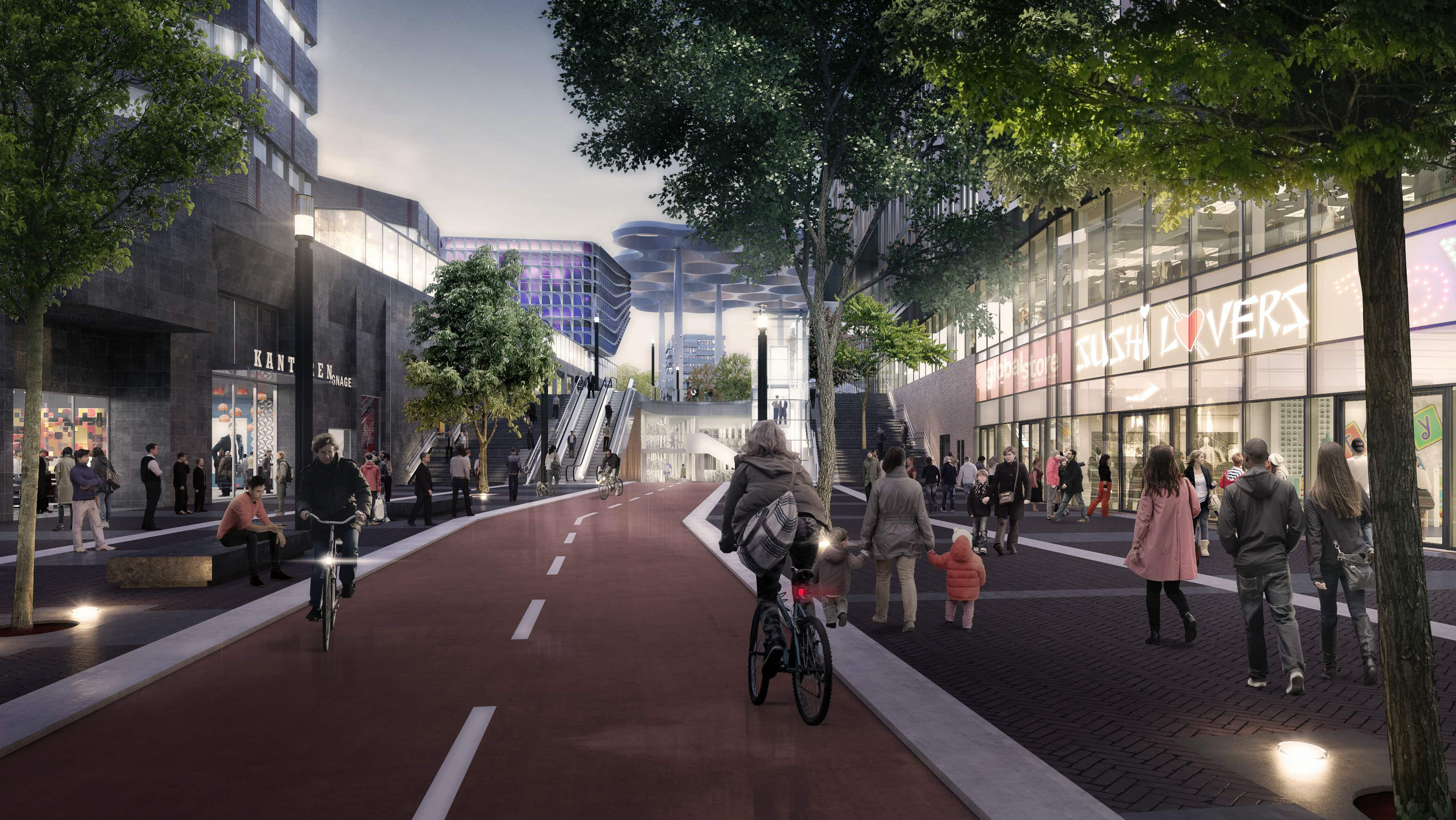 The biggest bike-parking facility in the world is about to open in Utrecht