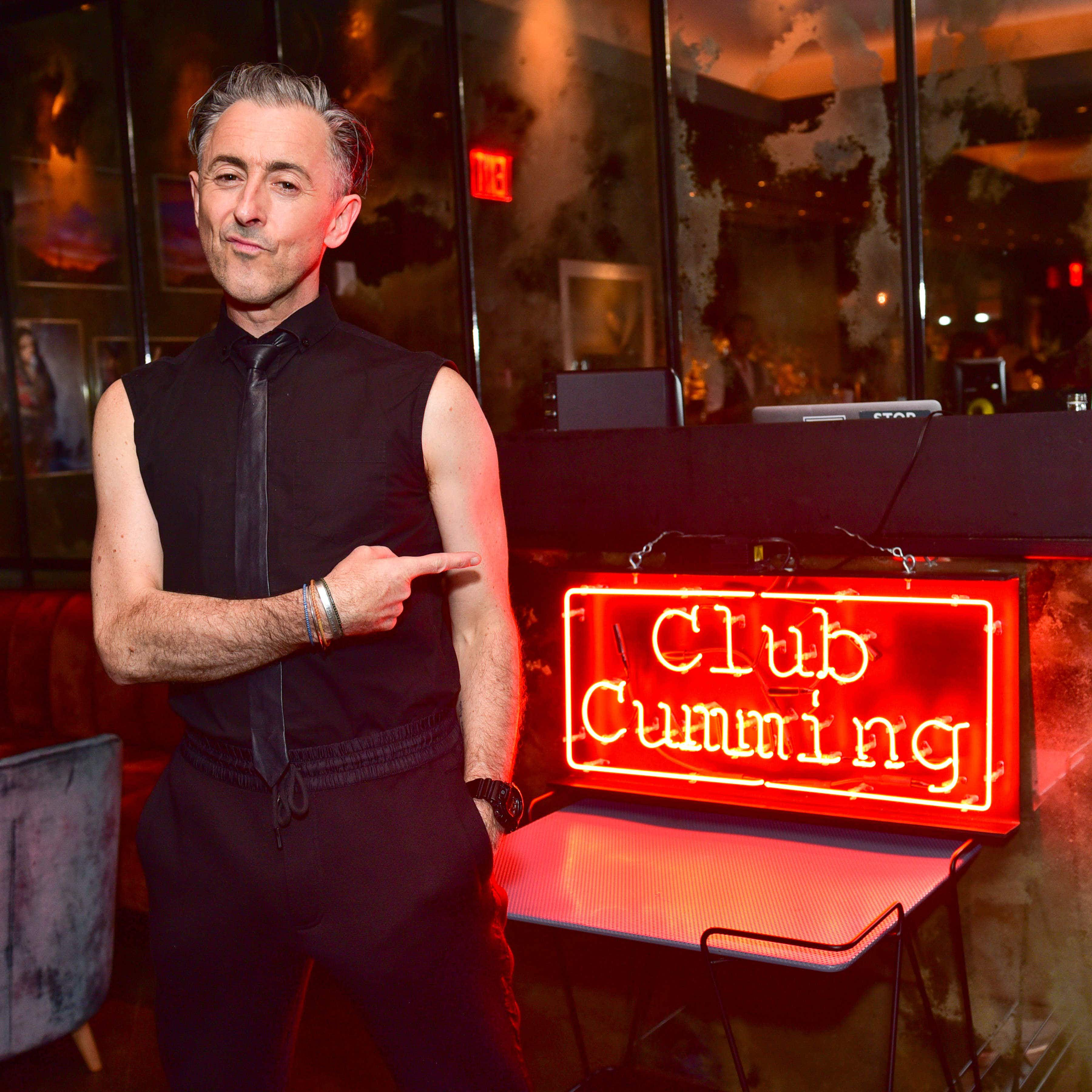 Alan Cumming's new venue combines debauchery and knitting in NYC