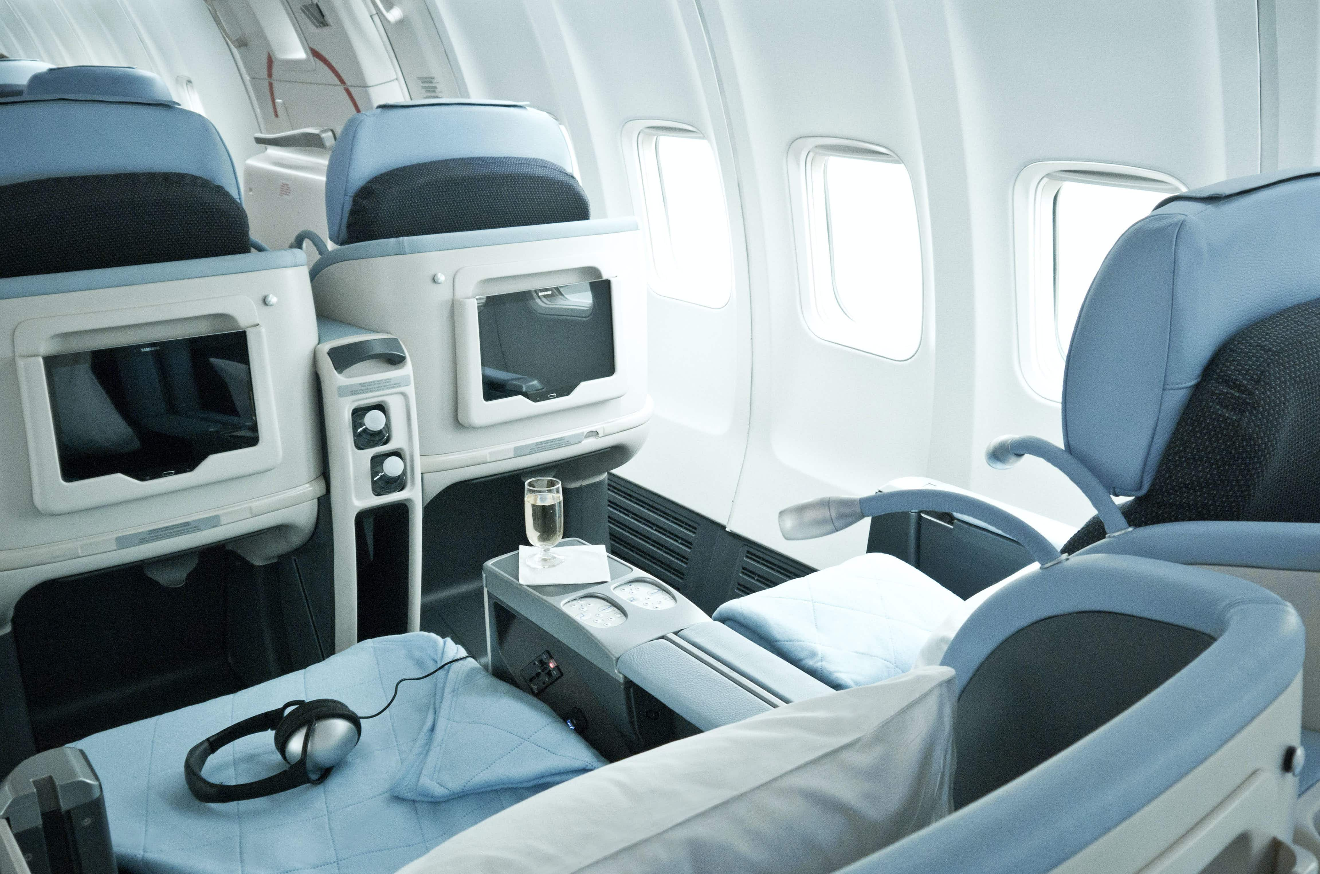 Unlimited business class flights between Paris and New York, yours for $40,000