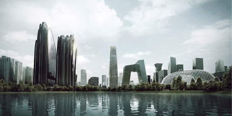 Beijing gets closer to nature with this futuristic complex