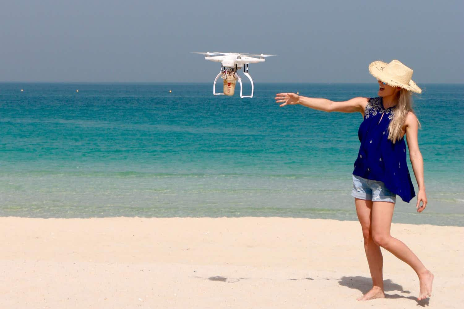Fancy having your coffee delivered by drone? Introducing the Coffee-Copter