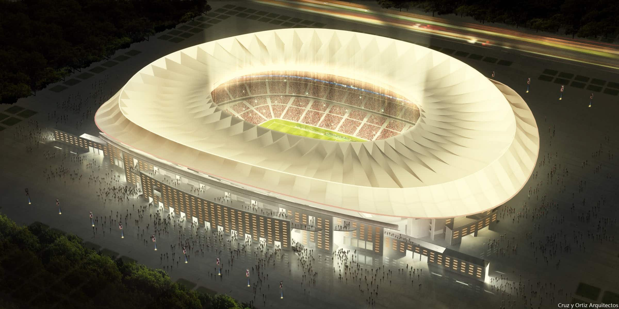 Atlético Madrid's incredible soccer new stadium set to be unveiled this weekend