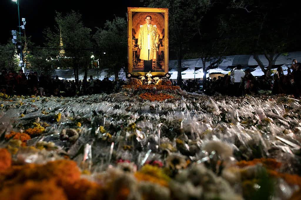 Thailand prepares for late king's funeral to be held in Bangkok over five days