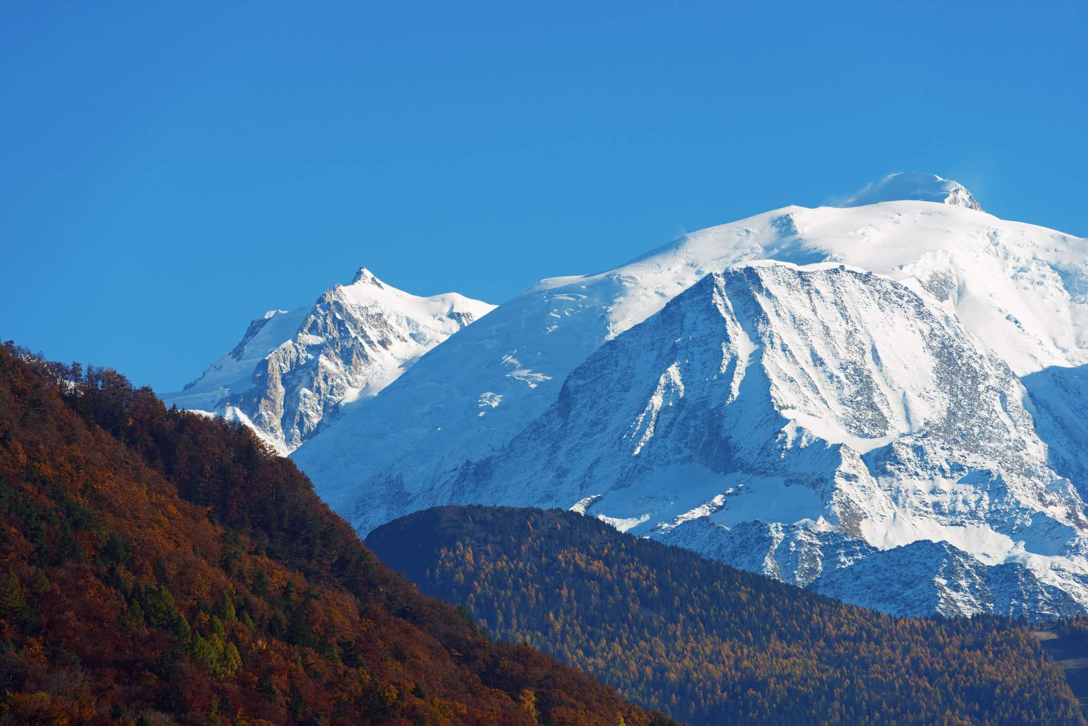 That shrinking feeling: Western Europe's highest peak gets smaller