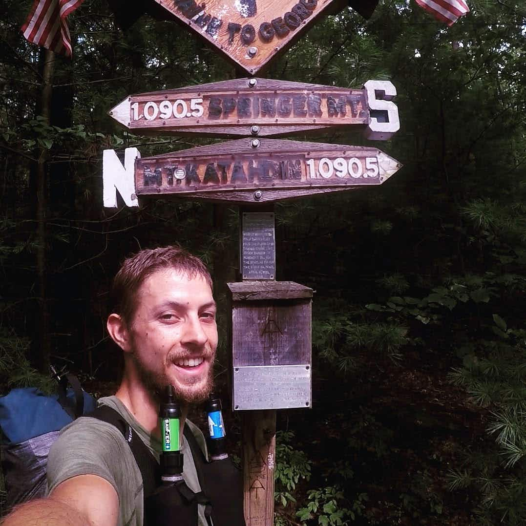 A Seattle man has just hiked the entire length of the Appalachian Trail in record breaking time
