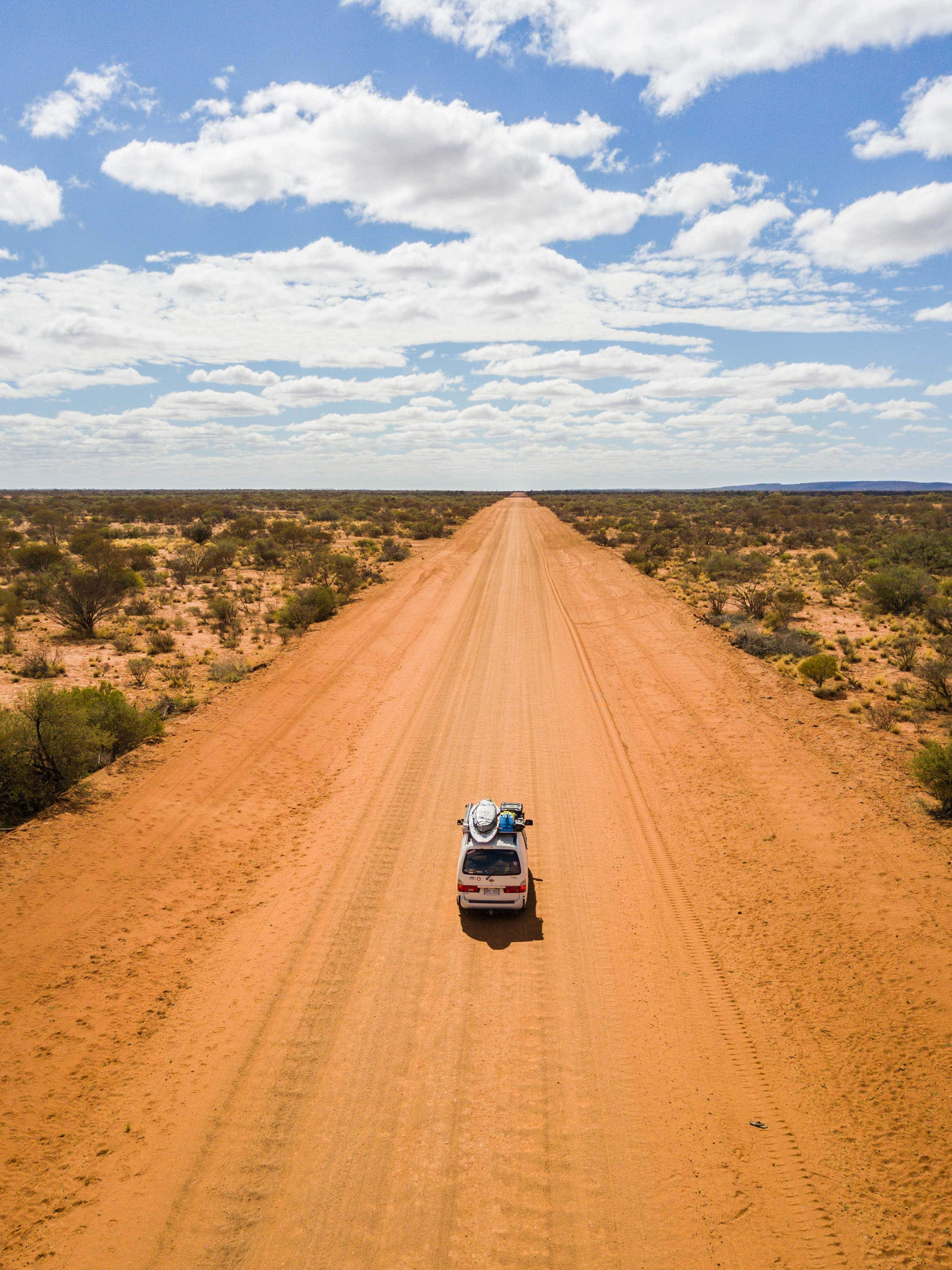 For this road-tripping couple with no itinerary, every day is a surprise