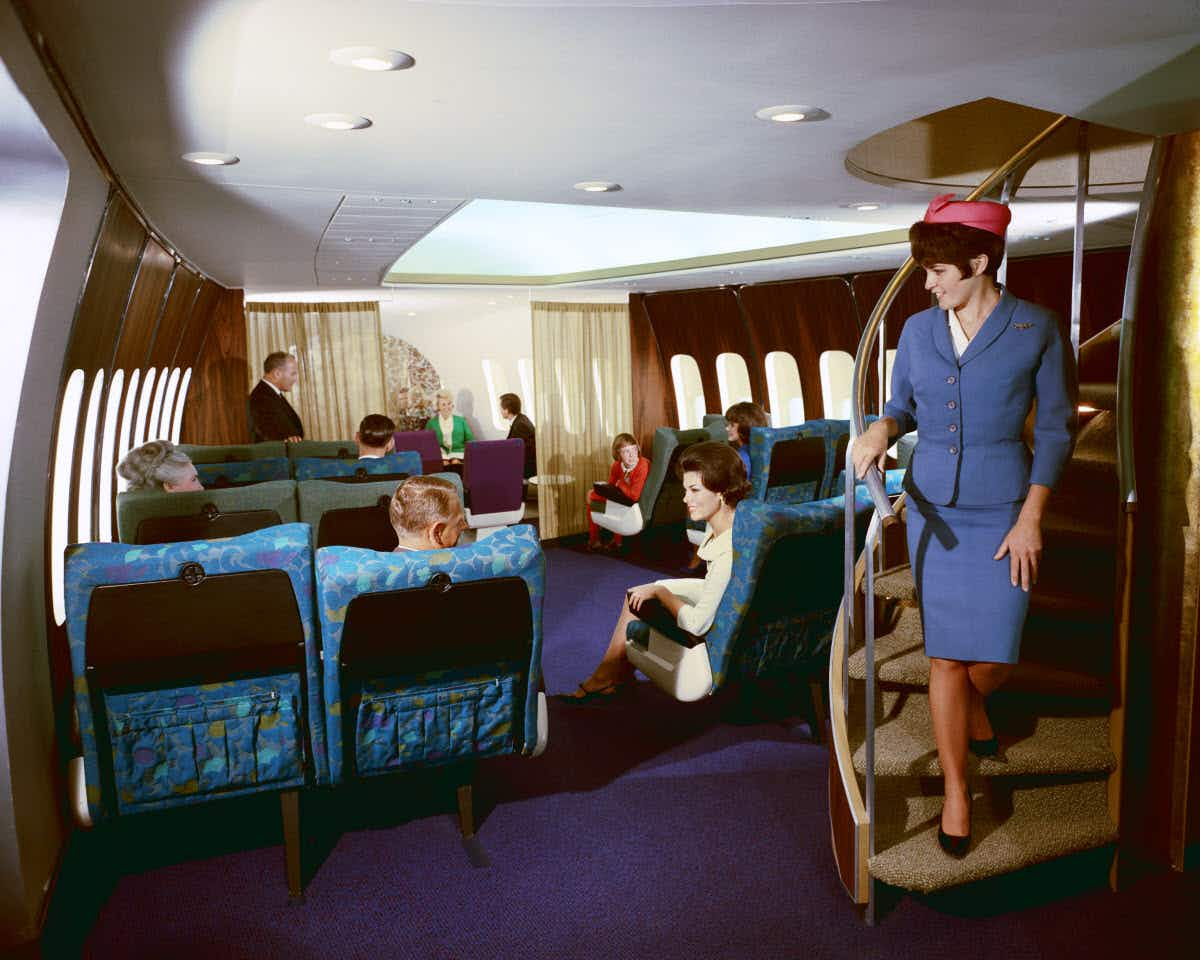 The iconic Boeing 747 is being retired in retro style