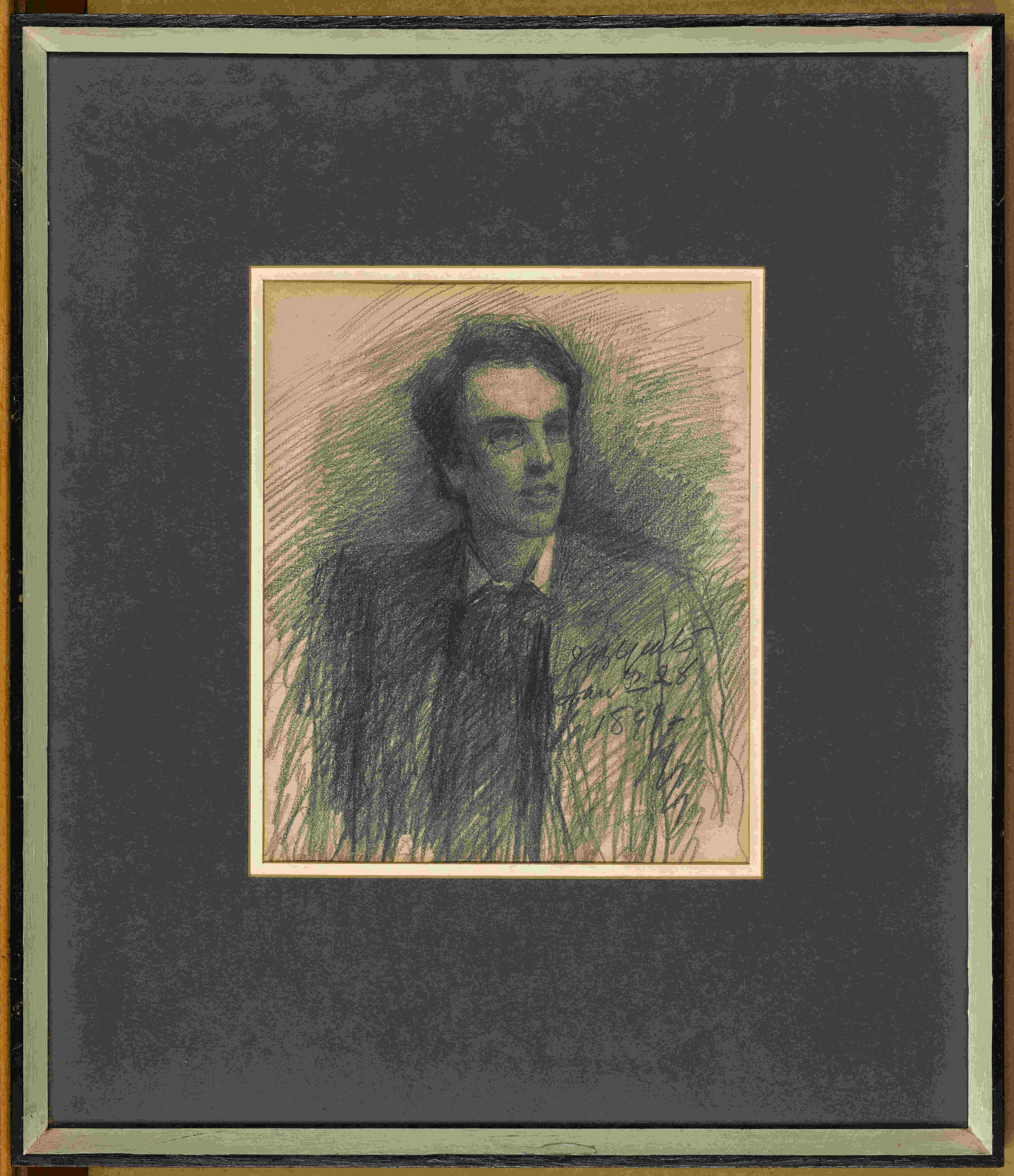 Previously unseen artefacts of writer W.B. Yeats and his artist brother Jack to go on display in Dublin this week