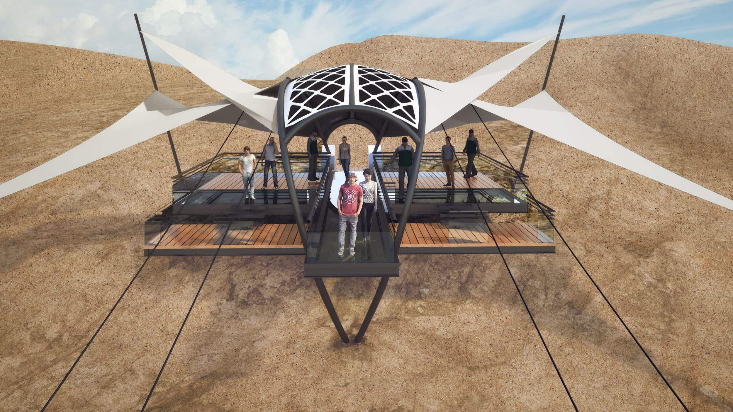 The world's longest and highest zip-line is to open this year in the United Arab Emirates