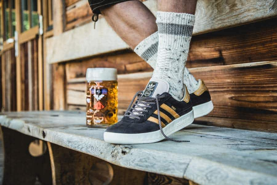 Oktoberfest has its very own shoes designed by Adidas...and they're beer-proof