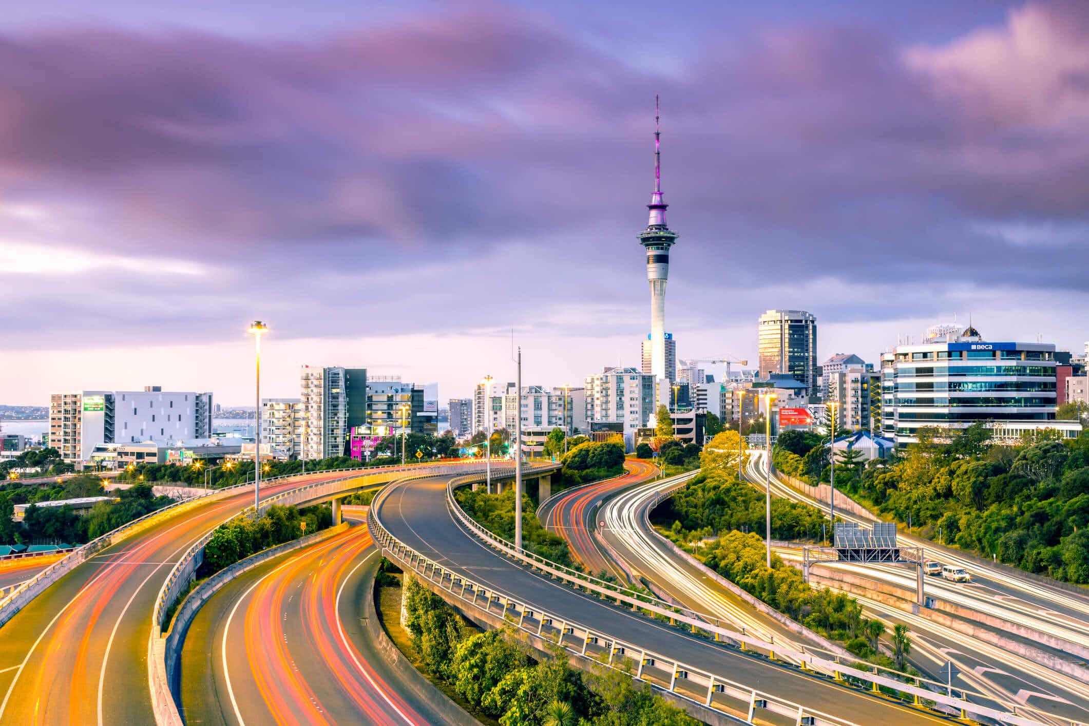 Auckland introduces rainbow themed new cycle paths