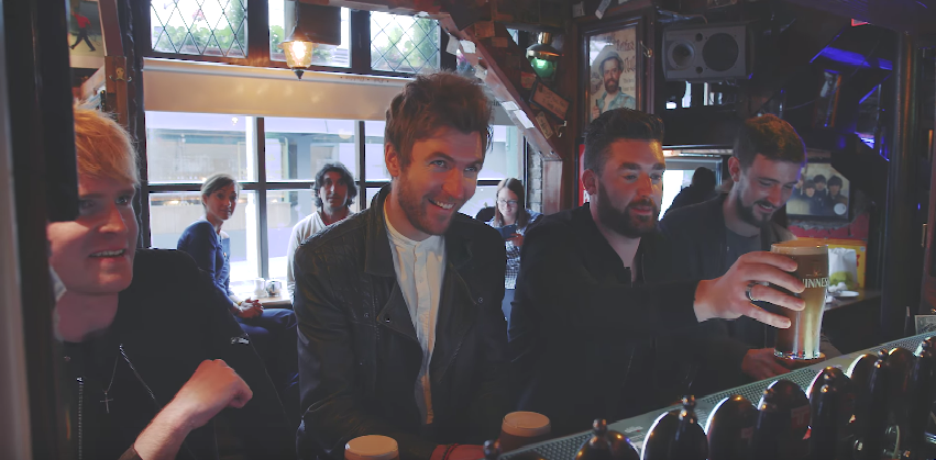 See Dublin celebrated through the eyes of Kodaline as they travel around their hometown
