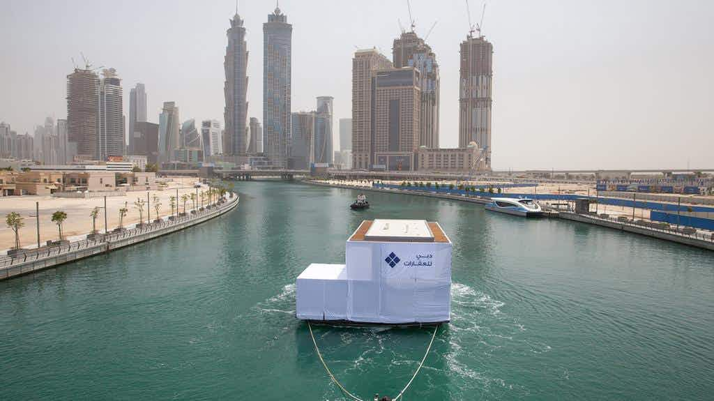 One of the world's coolest neighbourhoods has just introduced floating homes