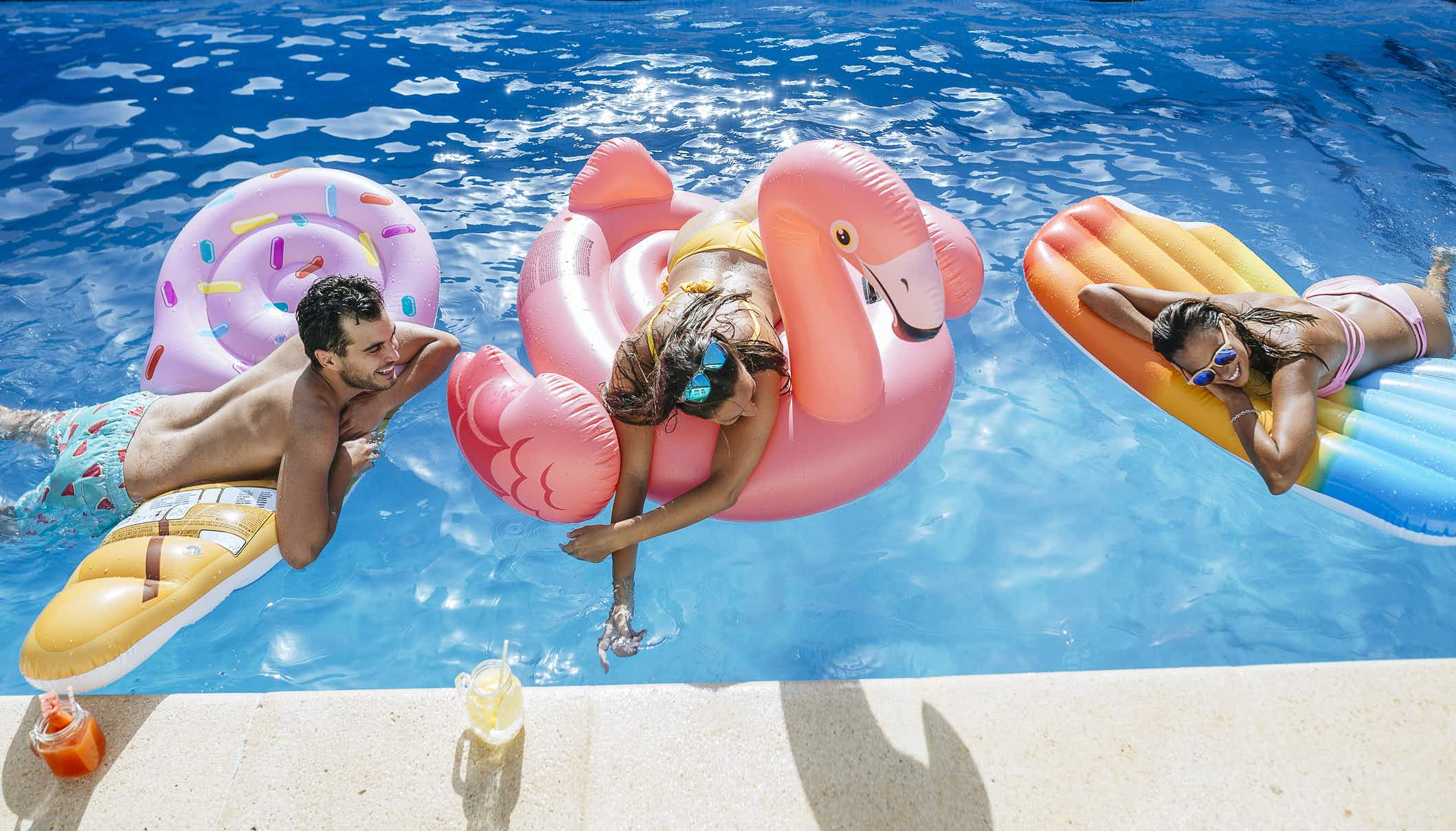 Pool toys are given a second life at this hotel's 'inflatable sanctuary'