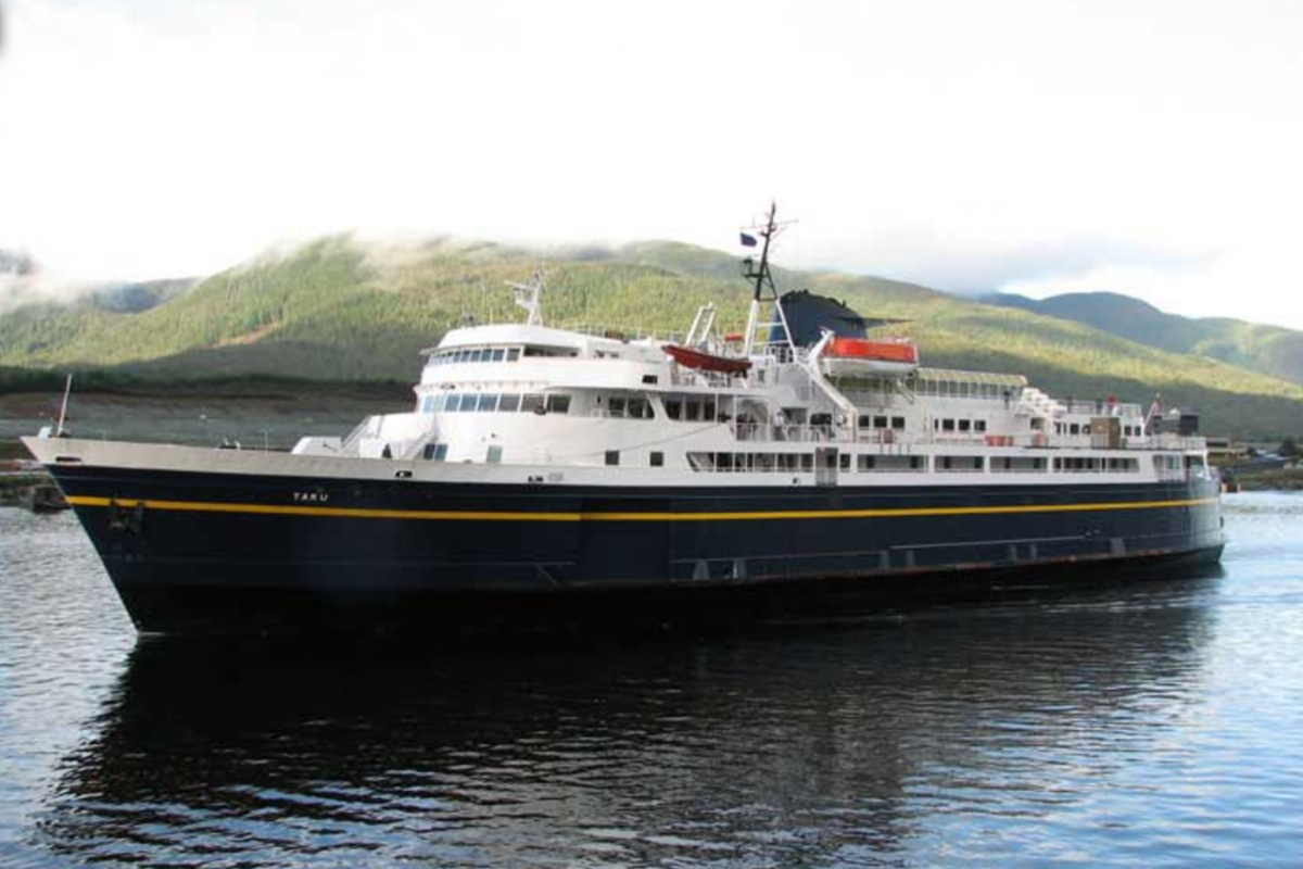 A retired 1960s Alaskan ferry may become a floating hotel and spa in Portland