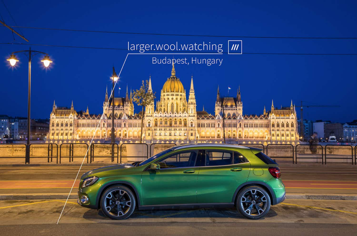 Cool, view, spark – Mercedes-Benz wants to help you navigate using three simple words