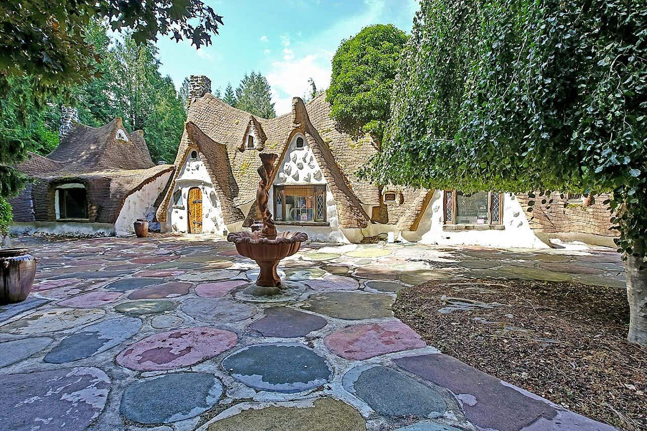 Have a look inside this enchanted Snow White cottage that's up for sale