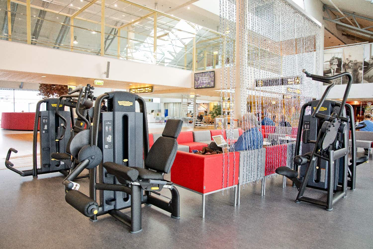 Europe's first airport terminal gym opens in Estonia