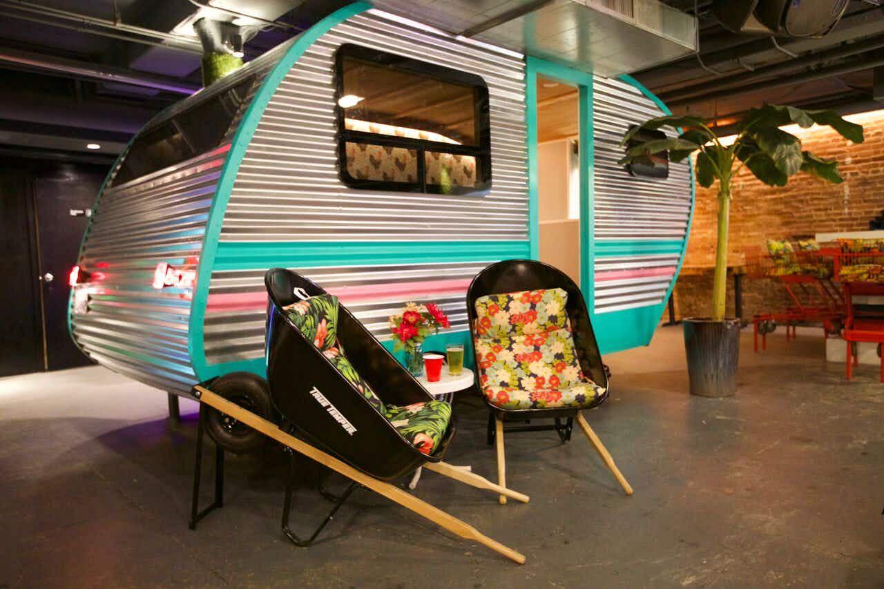 Inside California's new trailer park-themed bar and restaurant