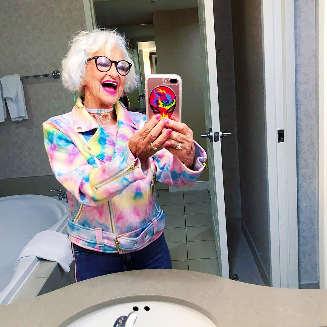 89-year-old Instagram fashion icon heads out on a bucket-list adventure