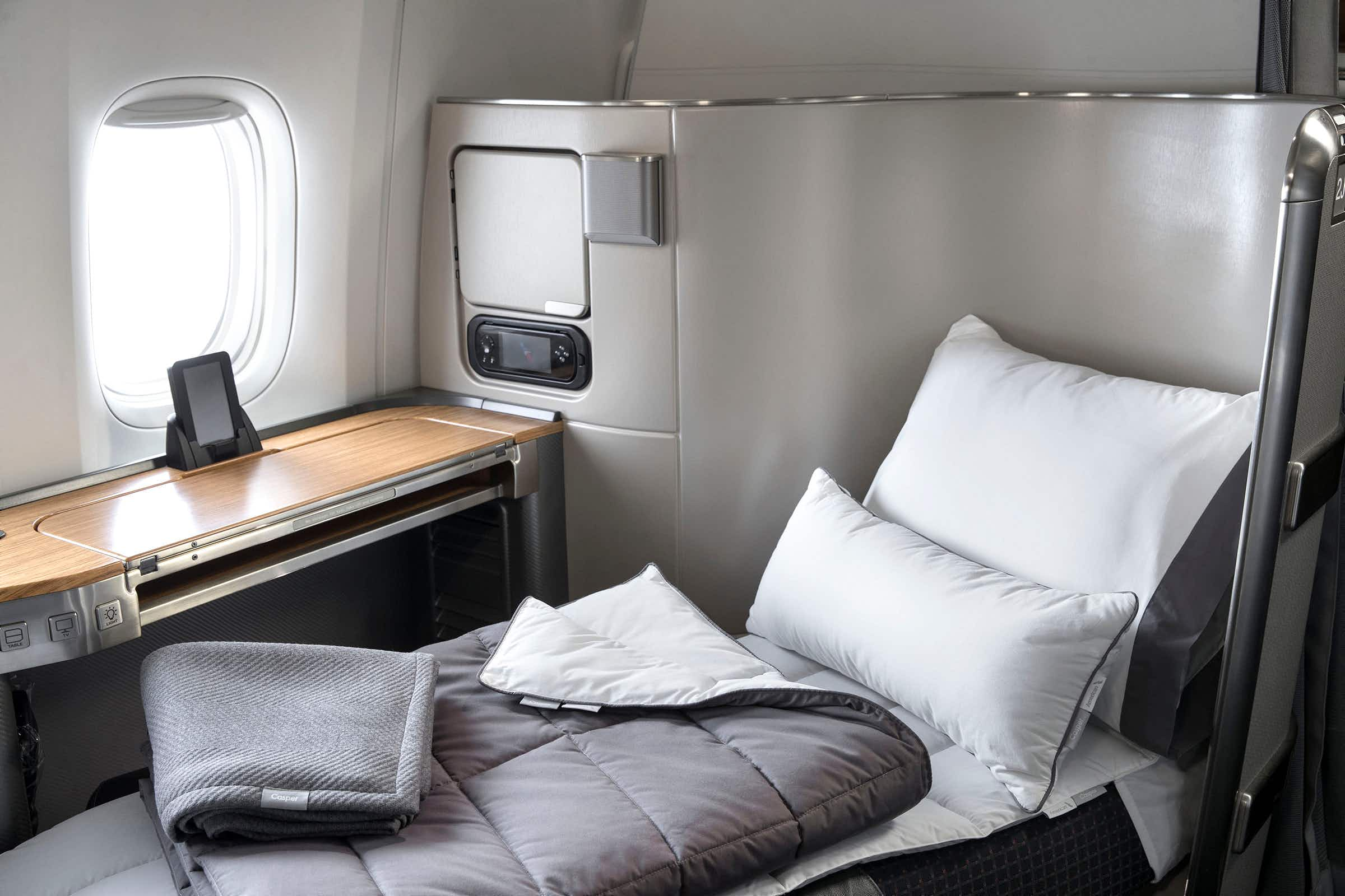 American Airlines is bringing game-changing bedding to the skies