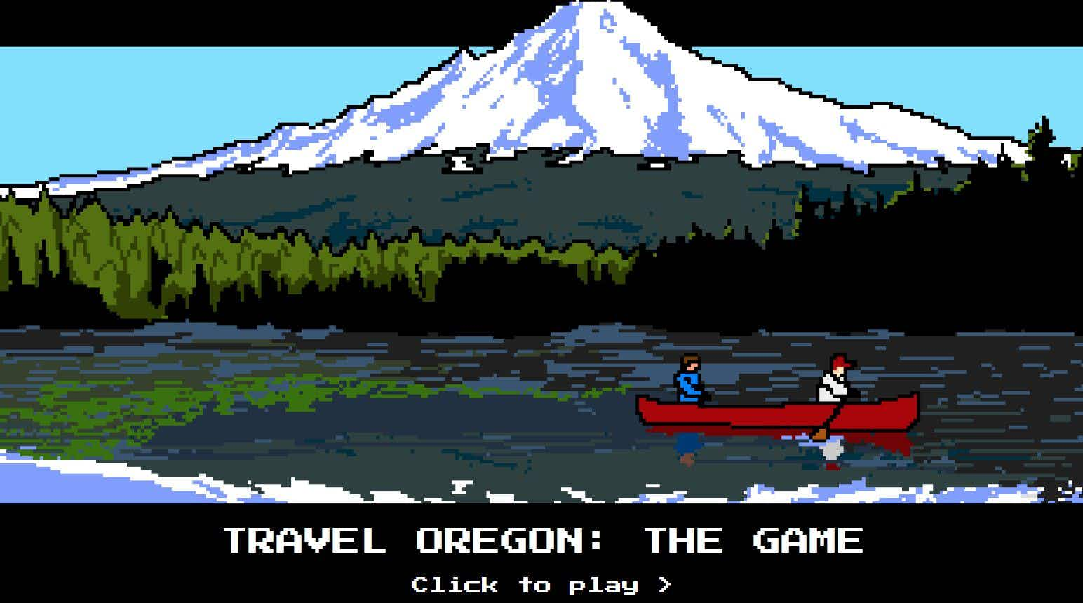 This update on the classic Oregon Trail game will entice you to plan a trip
