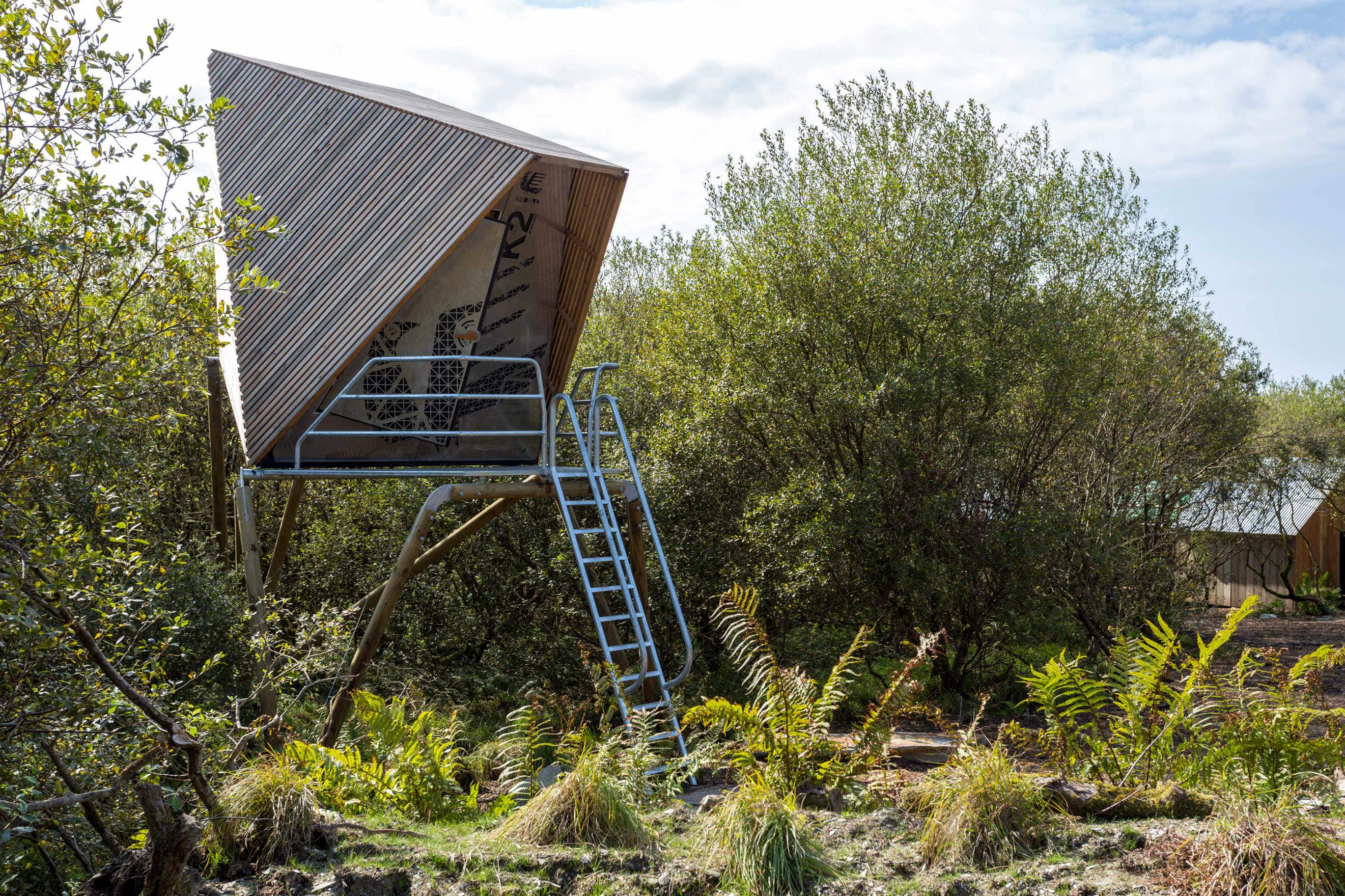 These Cornish cabins offer the ultimate wilderness experience