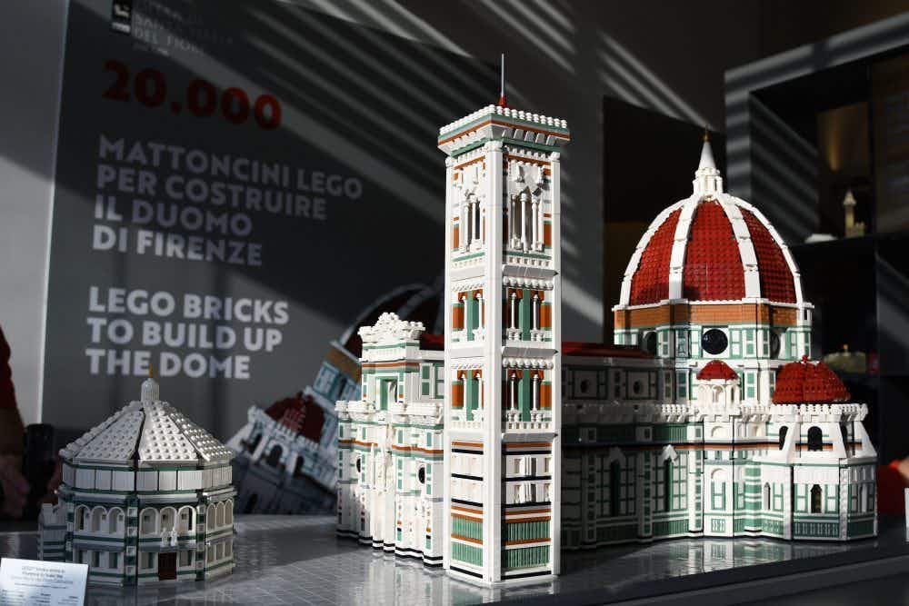LEGO replica of the iconic Duomo created in Florence