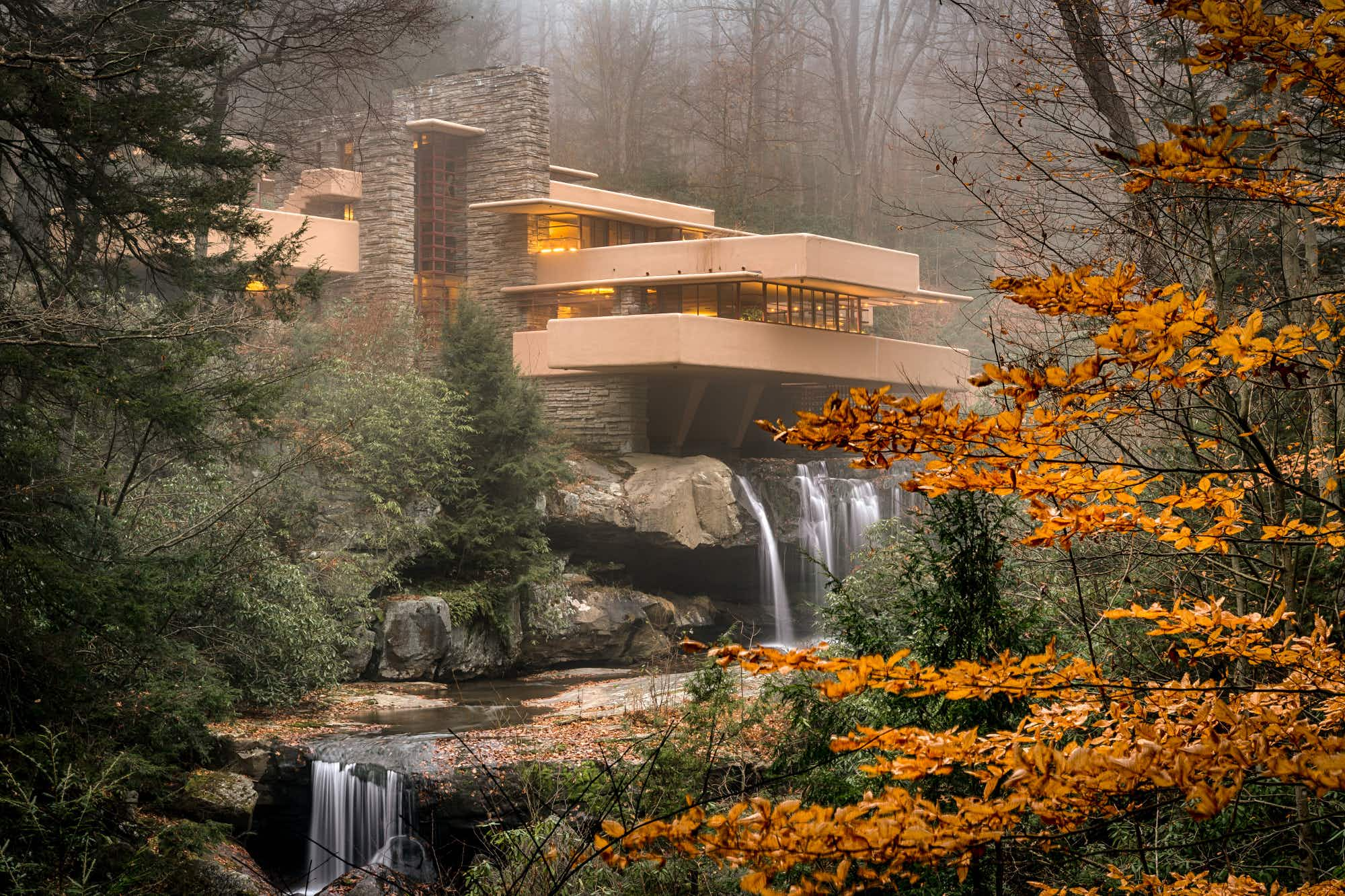The quest to photograph every Frank Lloyd Wright design in the world