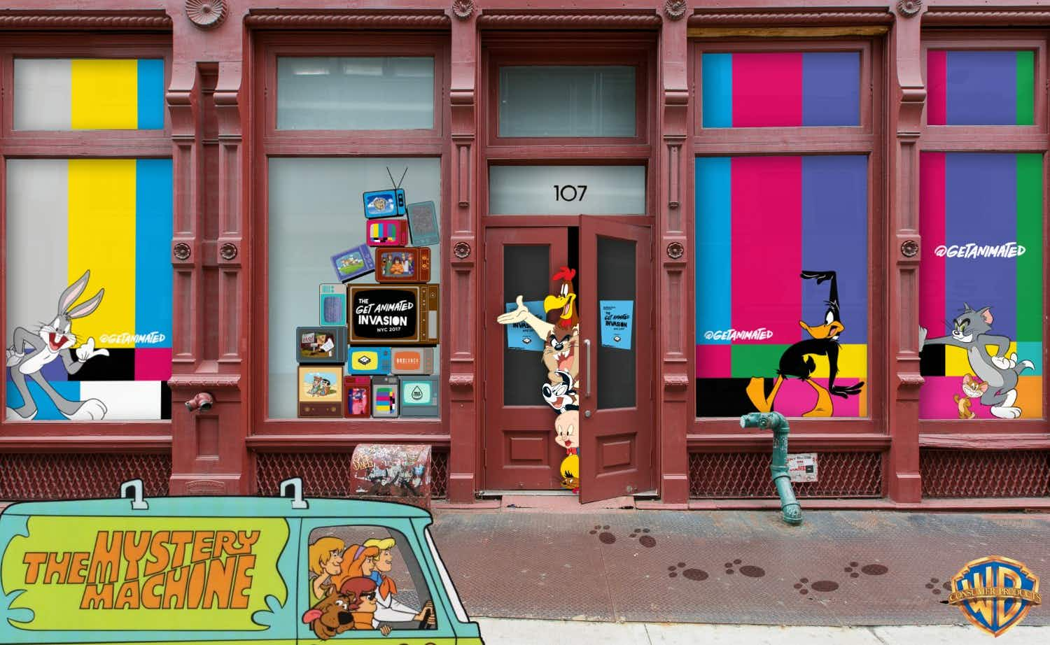 An incredible Warner Bros. pop-up is coming to New York this weekend