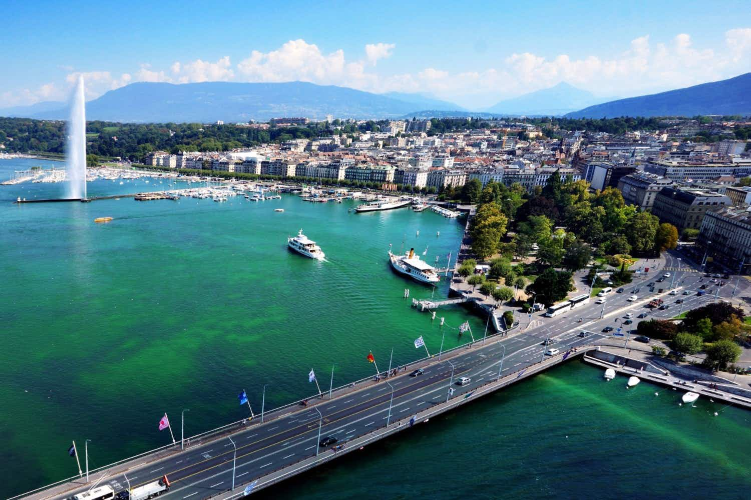Flying water taxis are coming to Lake Geneva next year
