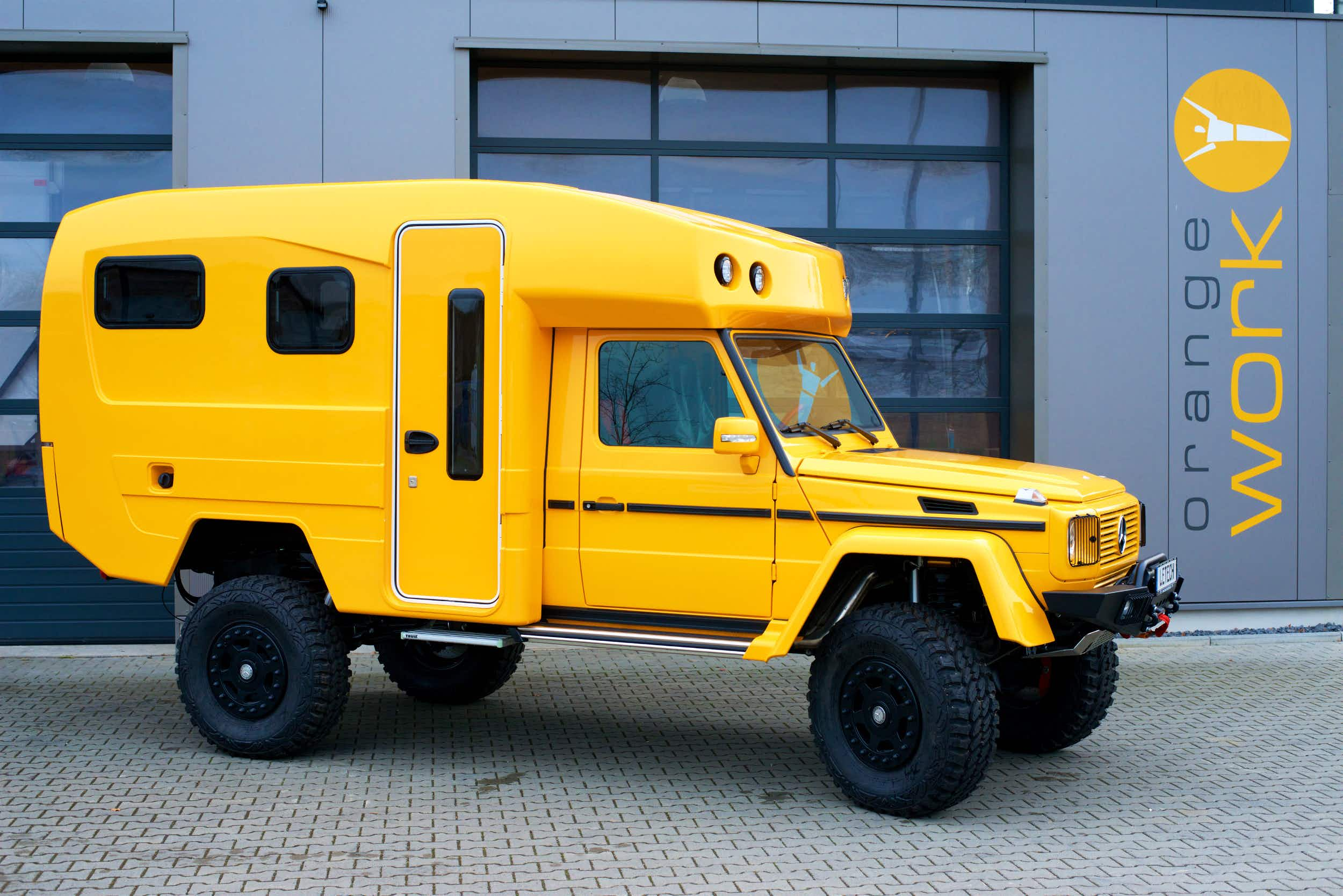 Why this eye-catching custom campervan costs a whopping $420,000