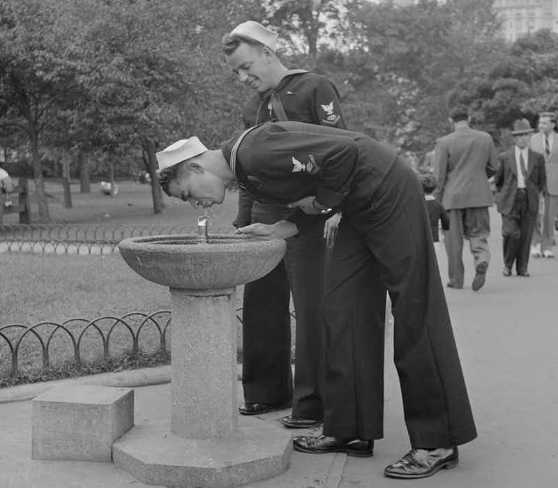 Forgotten images of a Sunday afternoon in Central Park re-emerge after 75 years