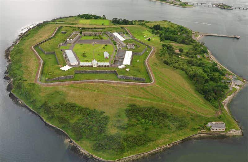The Alcatraz of Ireland named Europe's leading tourist attraction