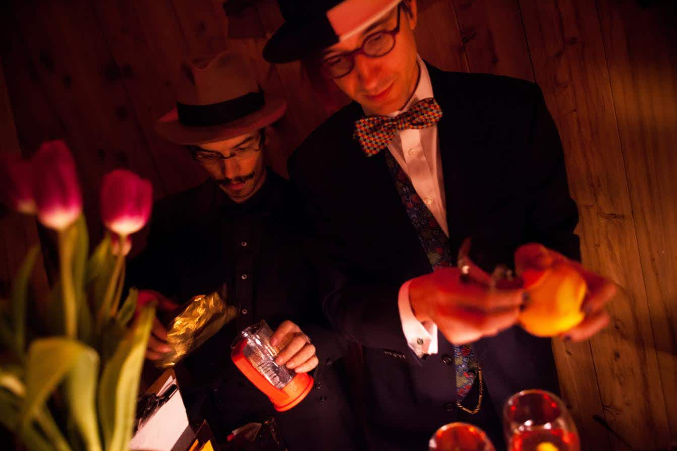 This exclusive new bar in Brooklyn is the size of a tollbooth