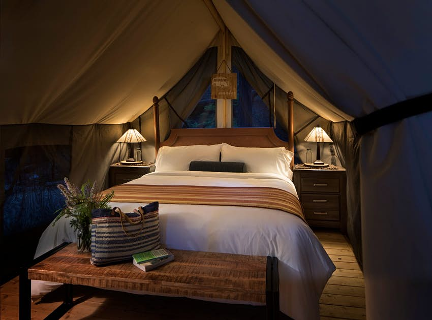 Inside The Luxurious New Glamping Site In Big Sur California Lonely Planet