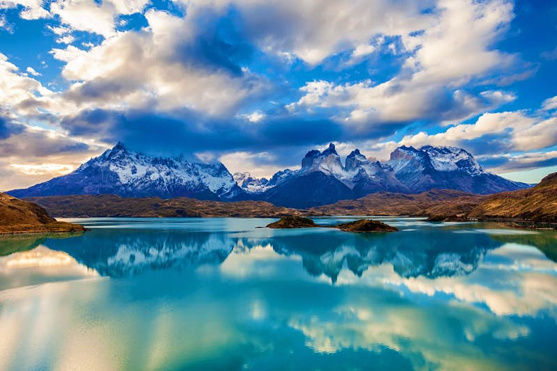 No 1. With places like the Torres del Paine National Park, why wouldn't you go to Chile? Photo by saiko3p/Shutterstock