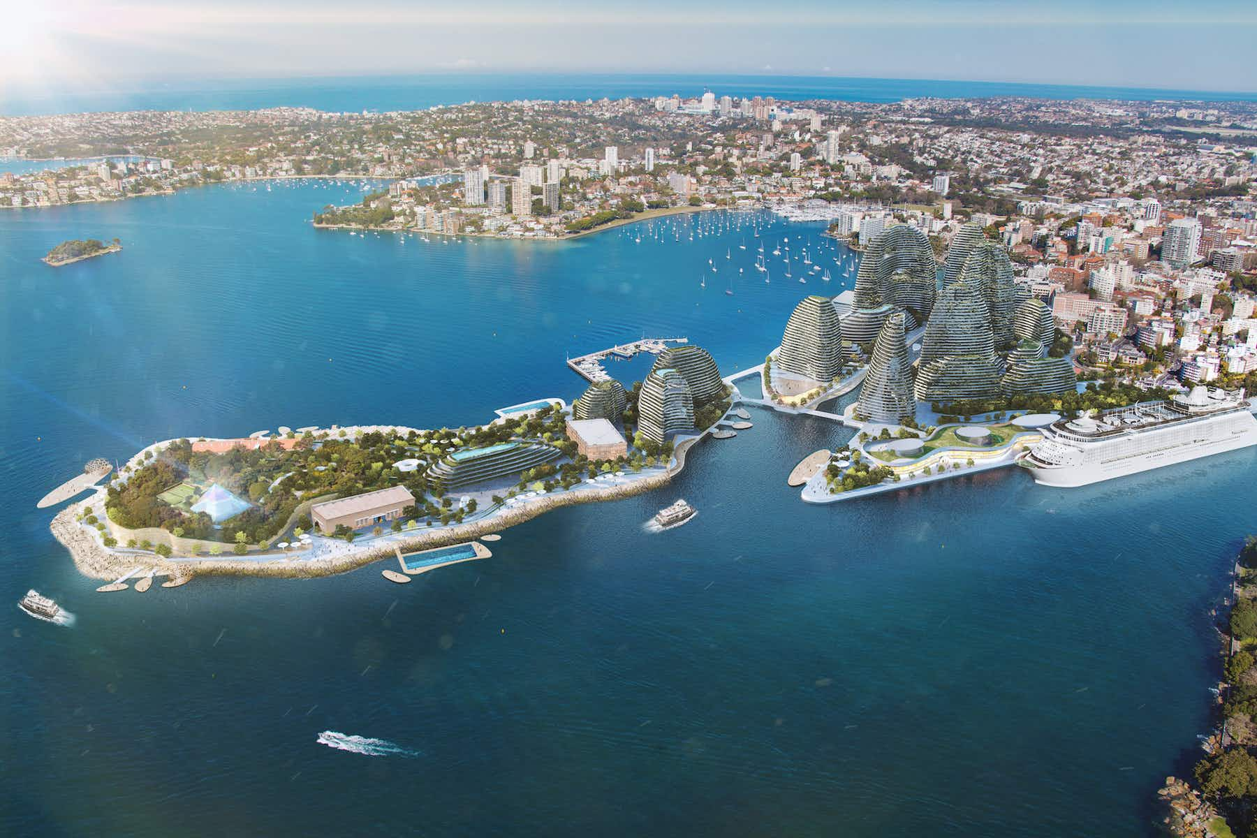 Sydney's Garden Island could be transformed into a cultural district