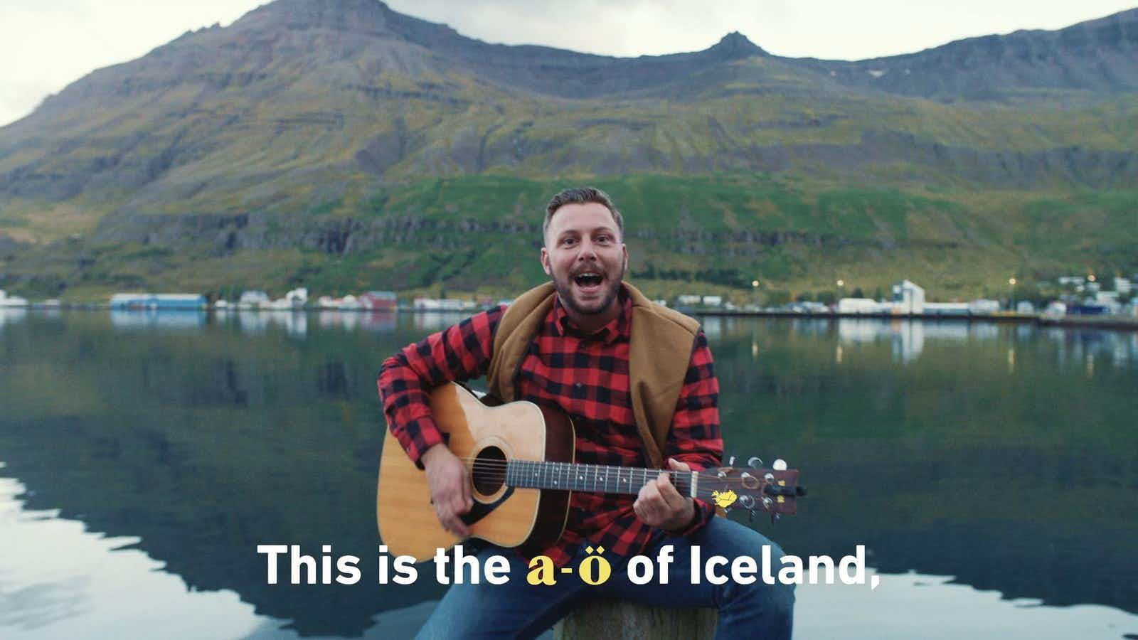 Has Iceland created the hardest karaoke song in the world?