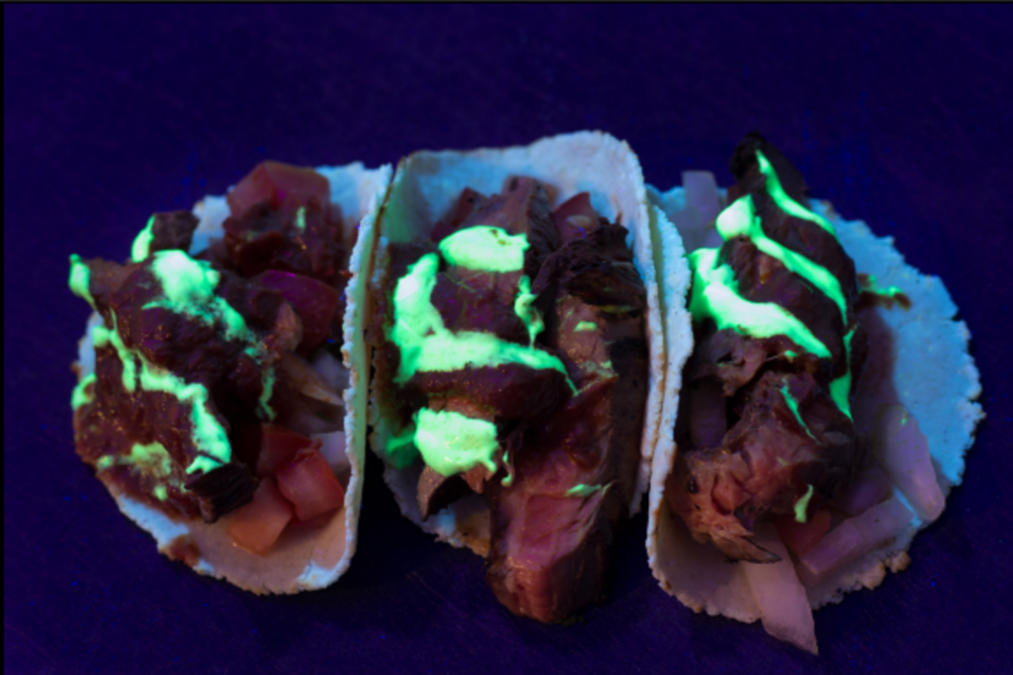 Where to find glow-in-the-dark tacos in London this month
