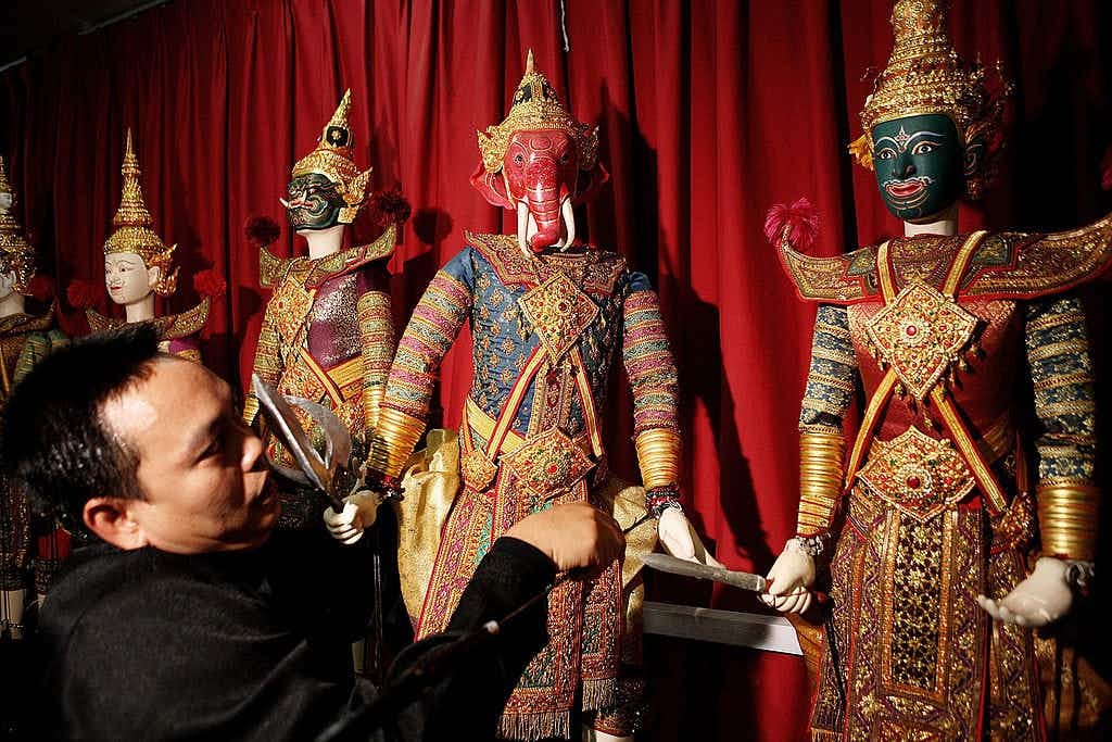 Thailand's lost art of royal puppetry is revived for the late king's cremation