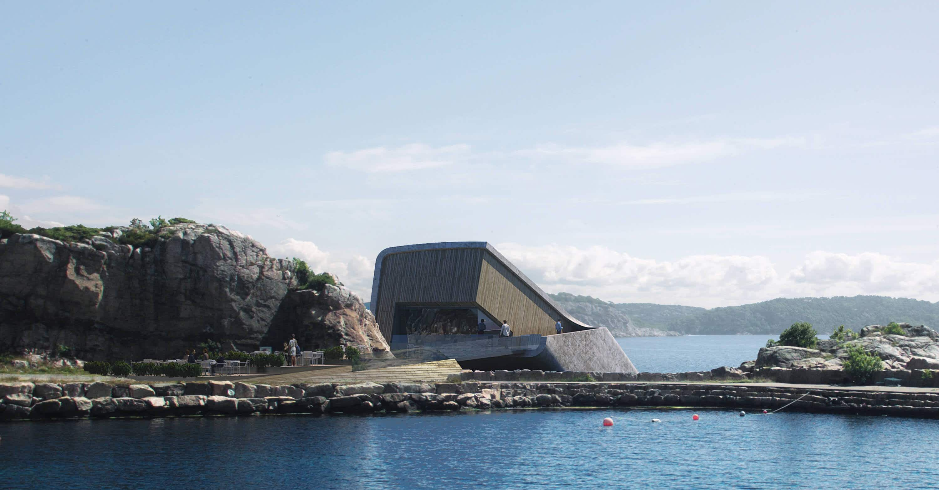 Get the first look at Europe's first restaurant under the sea in Norway