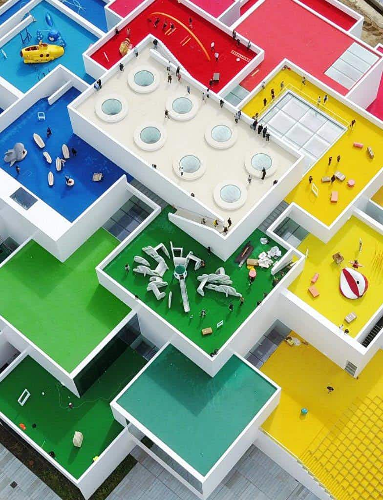 Block Party! Take a look inside the new home of LEGO in Denmark
