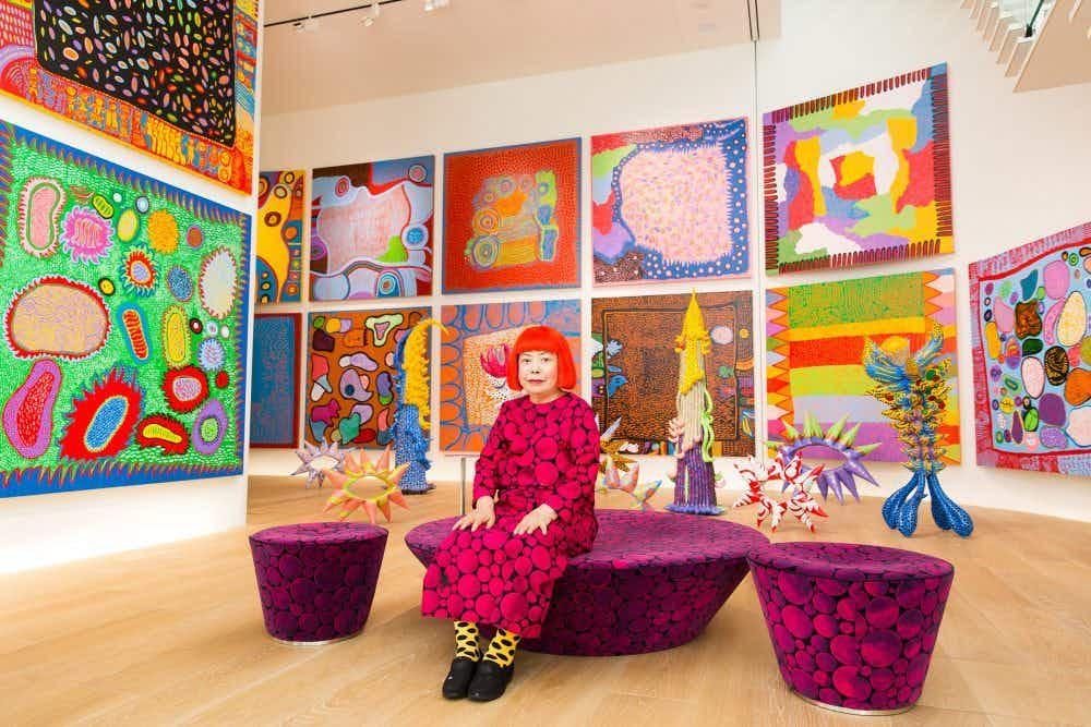 Inside Yayoi Kusama's psychedelic new LA exhibition, Infinity Mirrors