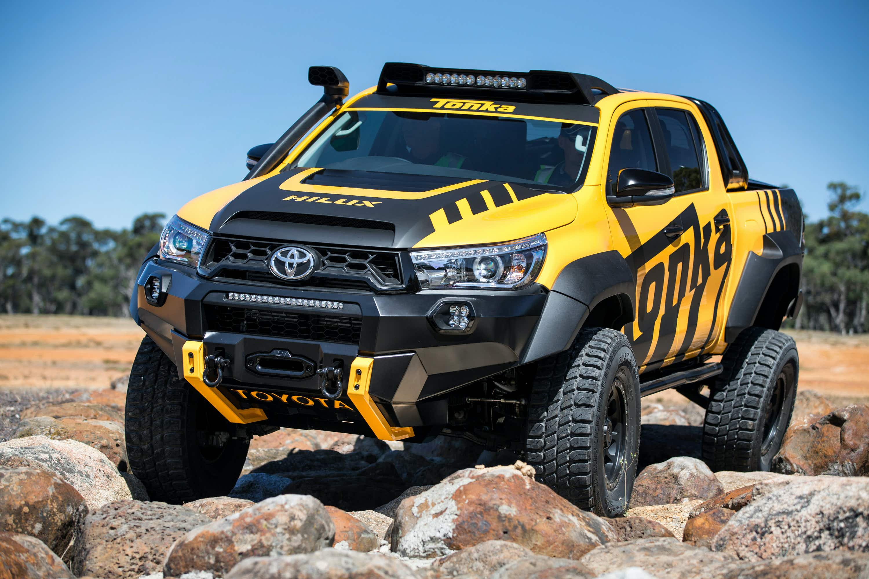 Australia's favourite car gets a makeover for extreme driving