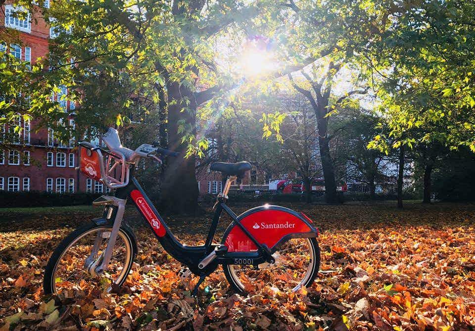 London's new generation Sadiq Cycles taking over from Boris bikes